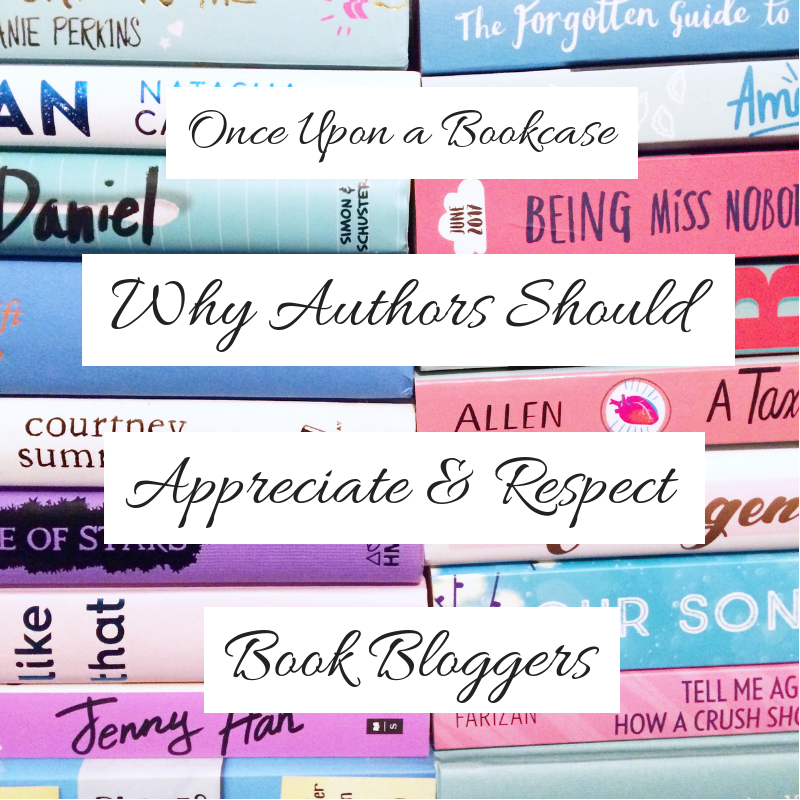 Why Authors Should Respect and Appreciate Book Bloggers