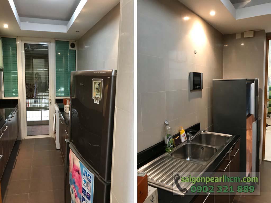 Cho thuê 2 phòng ngủ Ruby2 Saigon Pearl có nội thất view Bitexco Q1 - hình 4