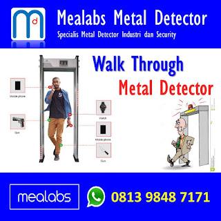 walk Through Metal Detector untuk Security
