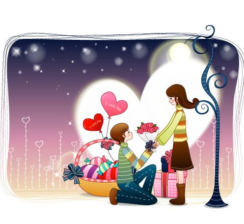 Koleksi 7200  Gambar Animasi Ngasih Bunga  Gratis
