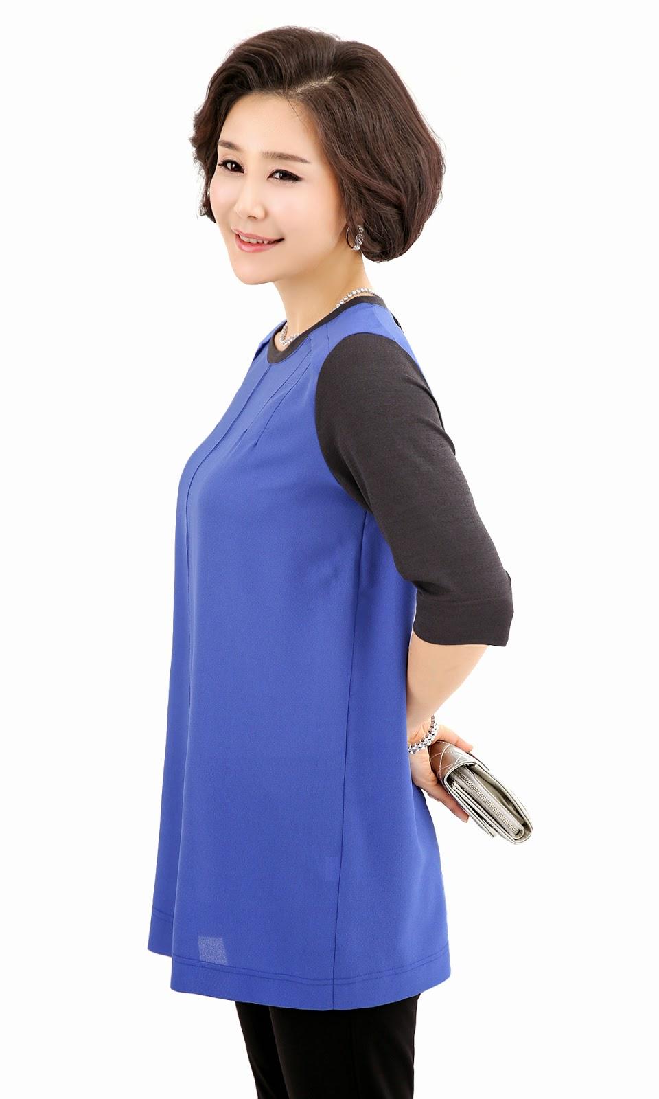 Middle-Agedolder Womens Fashion Clothing Apparel-4648