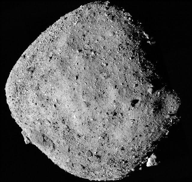 OSIRIS-REx discovers water on asteroid, confirming Bennu as excellent mission target
