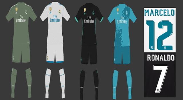 Real Madrid Kit PES 2017