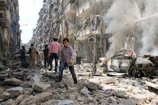 121 morts dans une série d'attentats en Syrie.