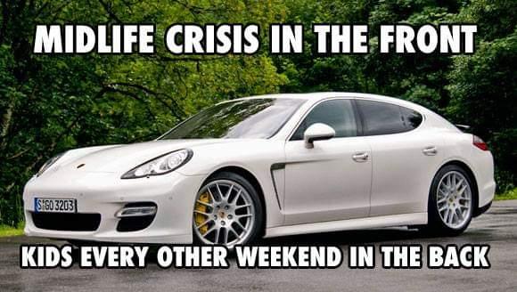 Midlife crisis meme