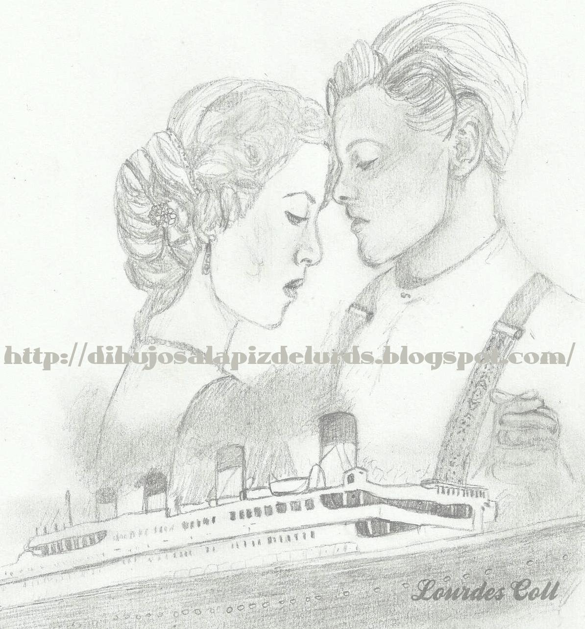 Mis Dibujos A Lápiz Reestreno De Titanic En 3d