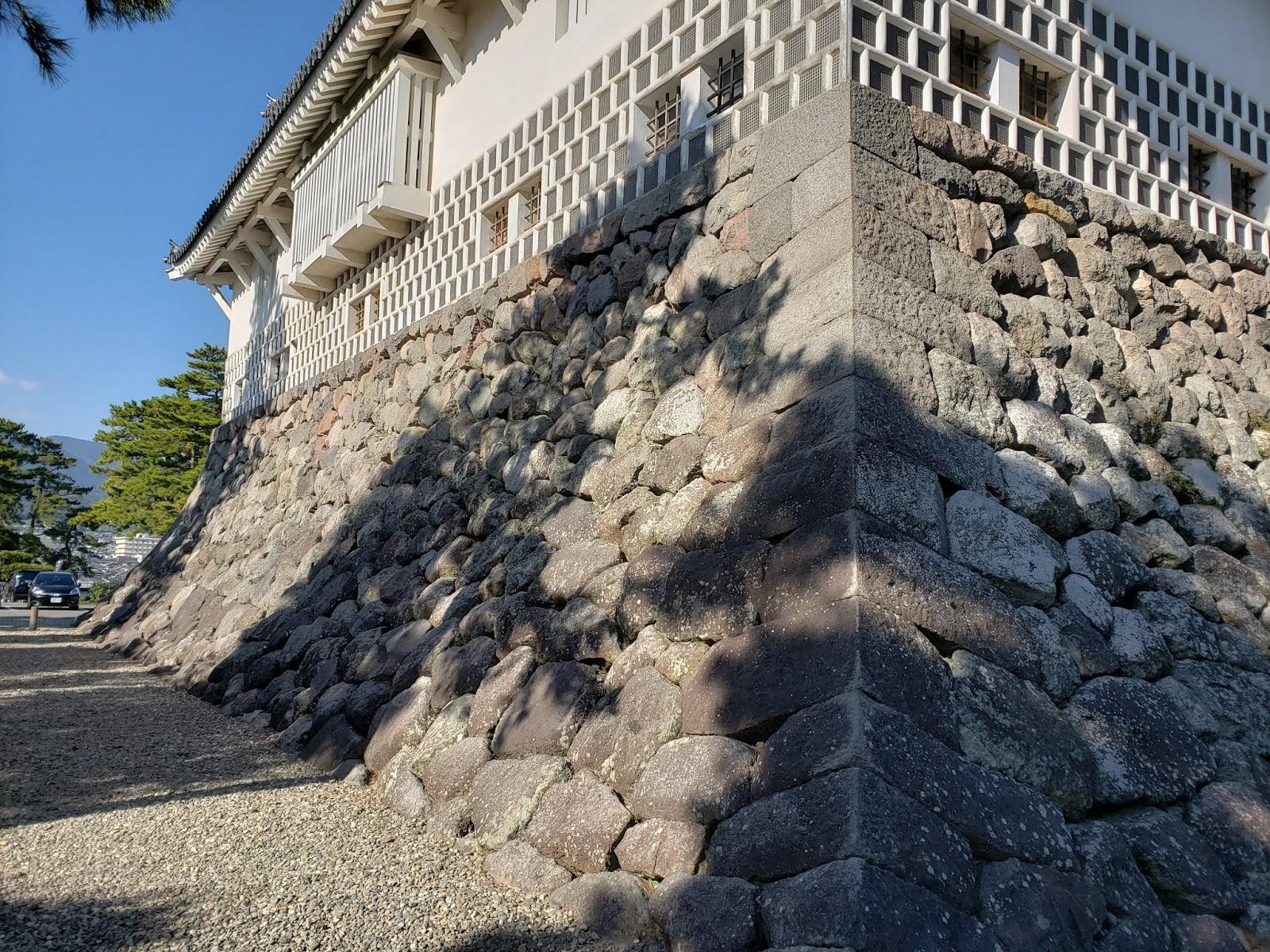島原城 石垣