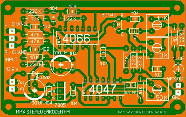 Enkoder untuk Pemancar Fm