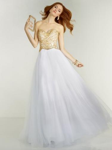 Suknia wieczorowa serduszko, tiul