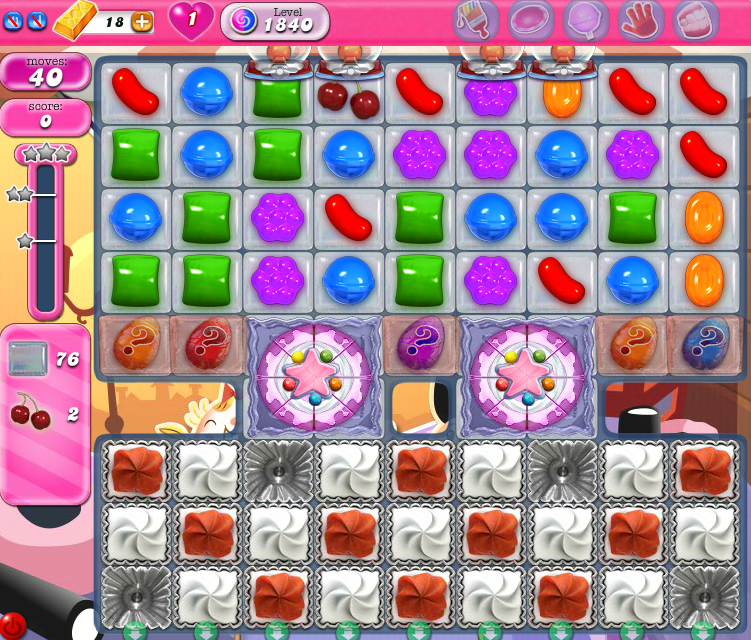 Candy Crush Saga 1840