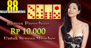Free Chip 10 000 Dari Masterdomino88 Chip Gratis