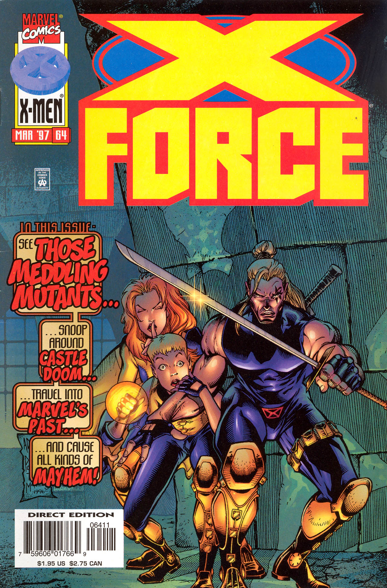 X-Force (1991) 64 Page 1