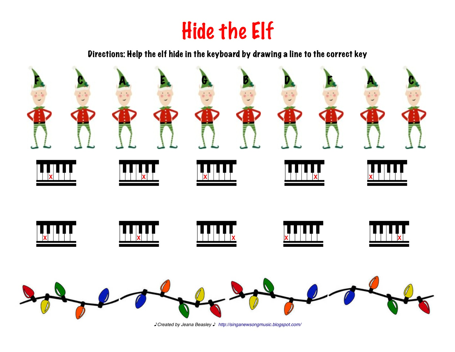 Sing A New Song Hide The Elf