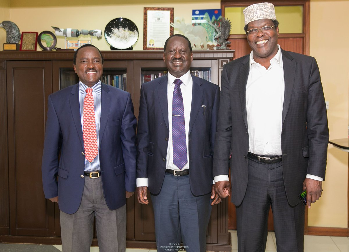 Miguna Miguna Orders The Stoning Of David Ndii