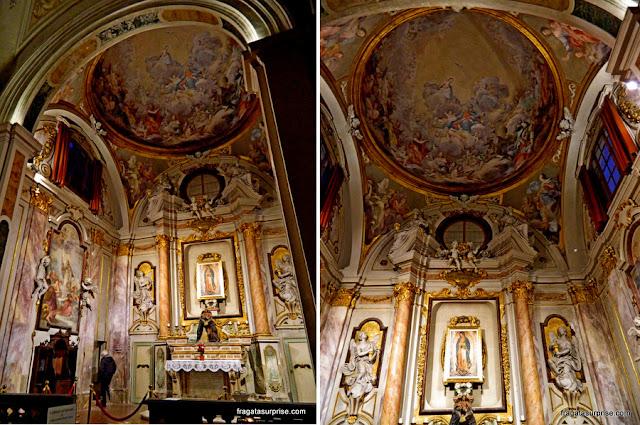 Capelas da Igreja de Ognisanti (Todos os Santos), Florença