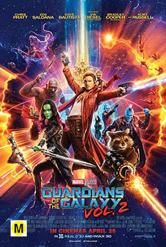 Marvel Cinematic Universe : Guardians Of the Galaxy Vol. 2