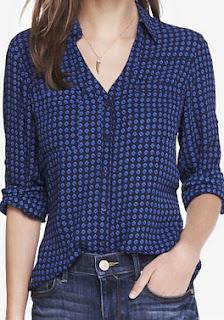 Sydney Fashion Hunter - The Monthly Wrap September 2015 - Blue Diamond Portofino Shirt