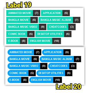 Cara membuat label blog keren dengan kode css blogspot