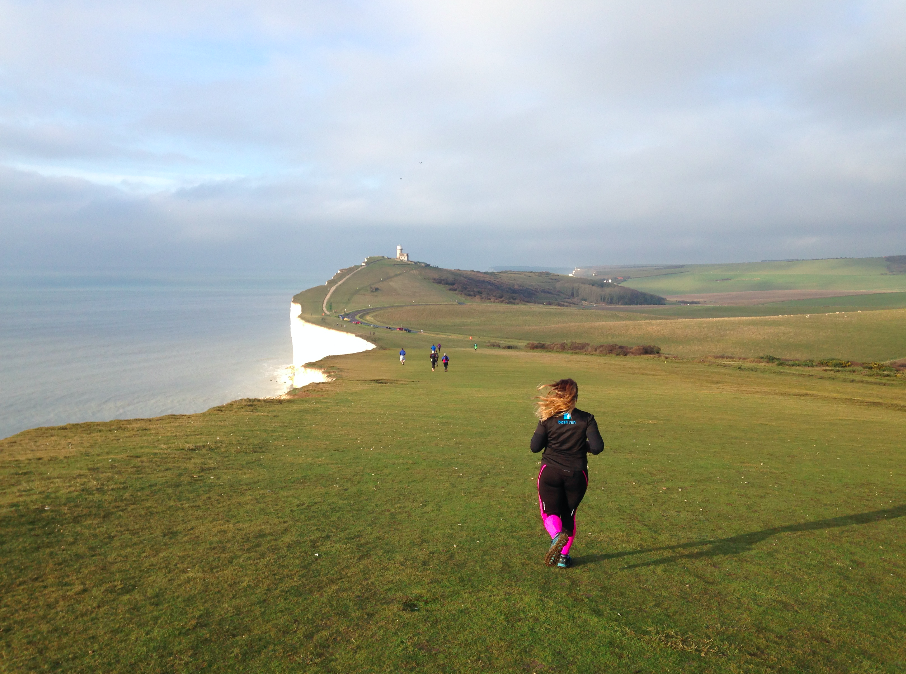 FitBits | Longman10 race over the Seven Sisters |ThisGirlCan Sussex