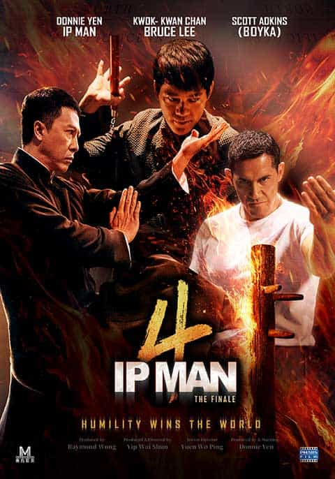 Ip Man 4: The Finale (2019) English 720p BluRay x264 900MB ESubs