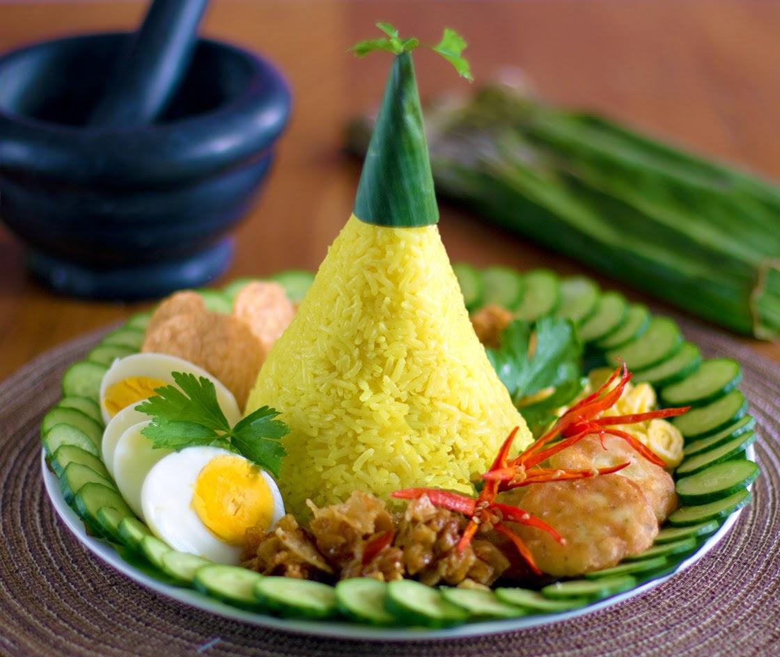 Nasi Kuning/ Turmeric Rice