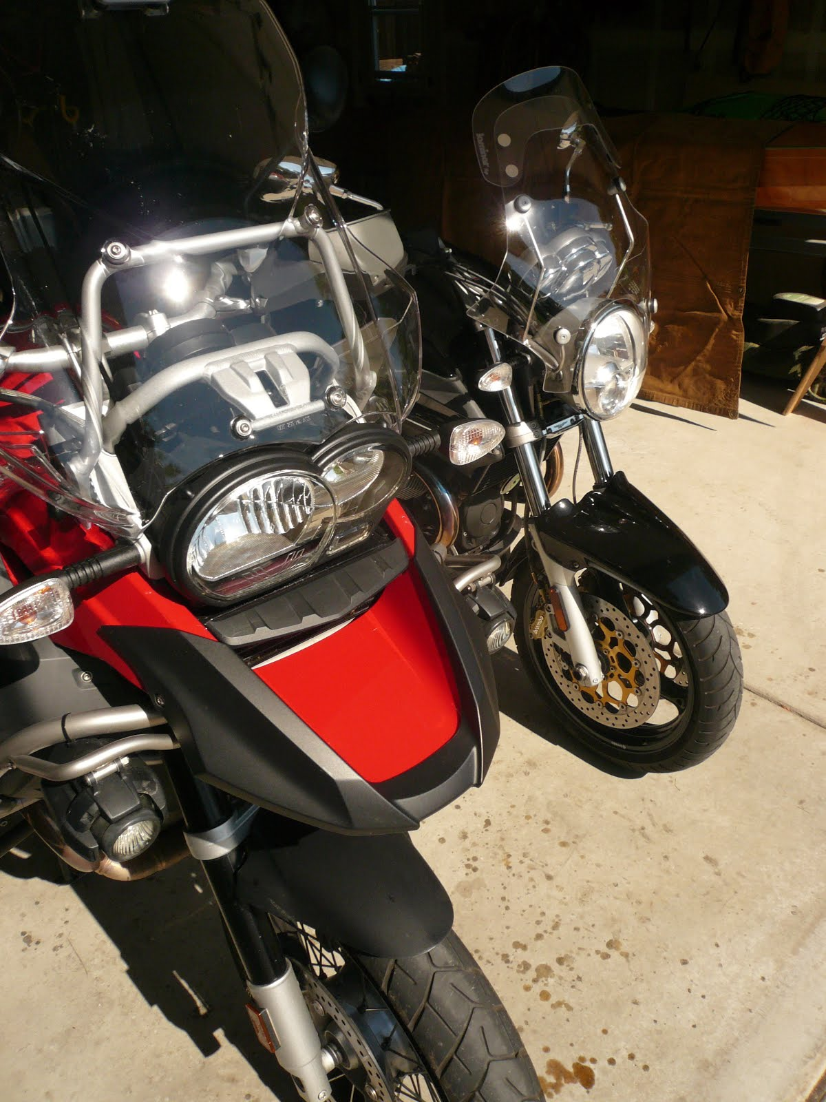 Changing Dance Partners  ...the two-wheeled variety...
