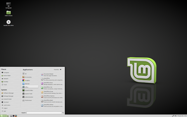 "Linux Mint 18 ""Sarah"" MATE Edition"