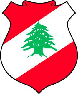 Gambar Lambang negara Libanon