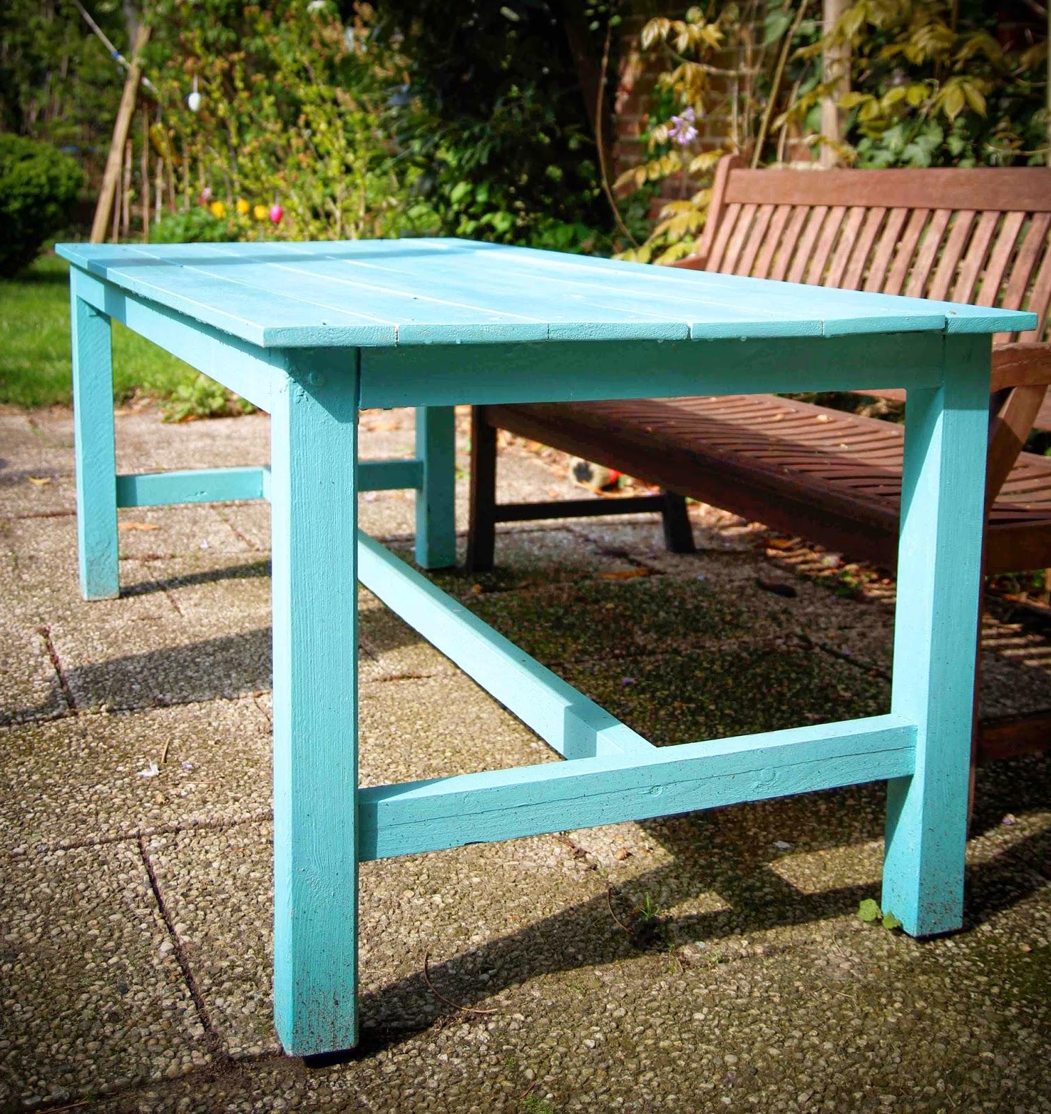 Treibholztag gartentisch selbst bauen - Gartentisch selbst bauen ...