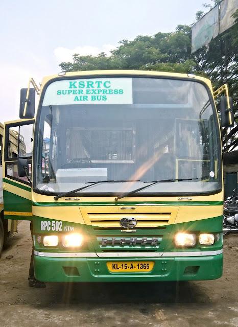 New Eicher Super Express of KSRTC - Aanavandi Travel Blog
