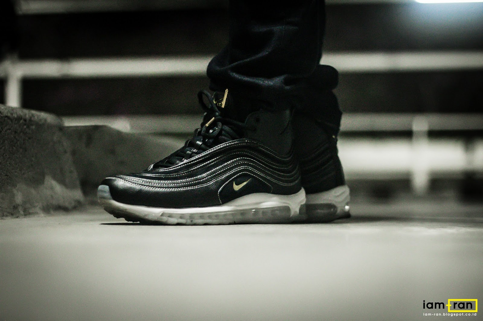 IAM RAN: ON FEET : Isser Nike LAB Airmax 97 Mid X Riccardo