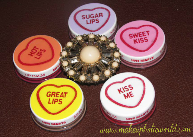 MUA Love Heart Lip Balms Full Collection Review