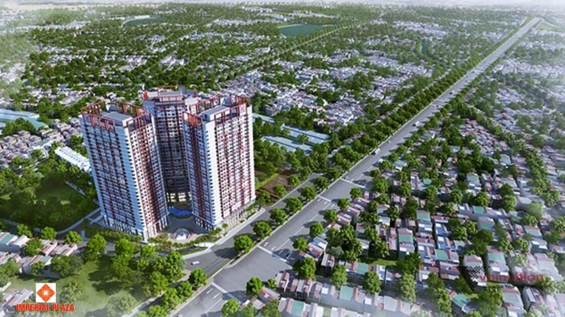 Toàn cảnh dự án chung cư Imperial Plaza