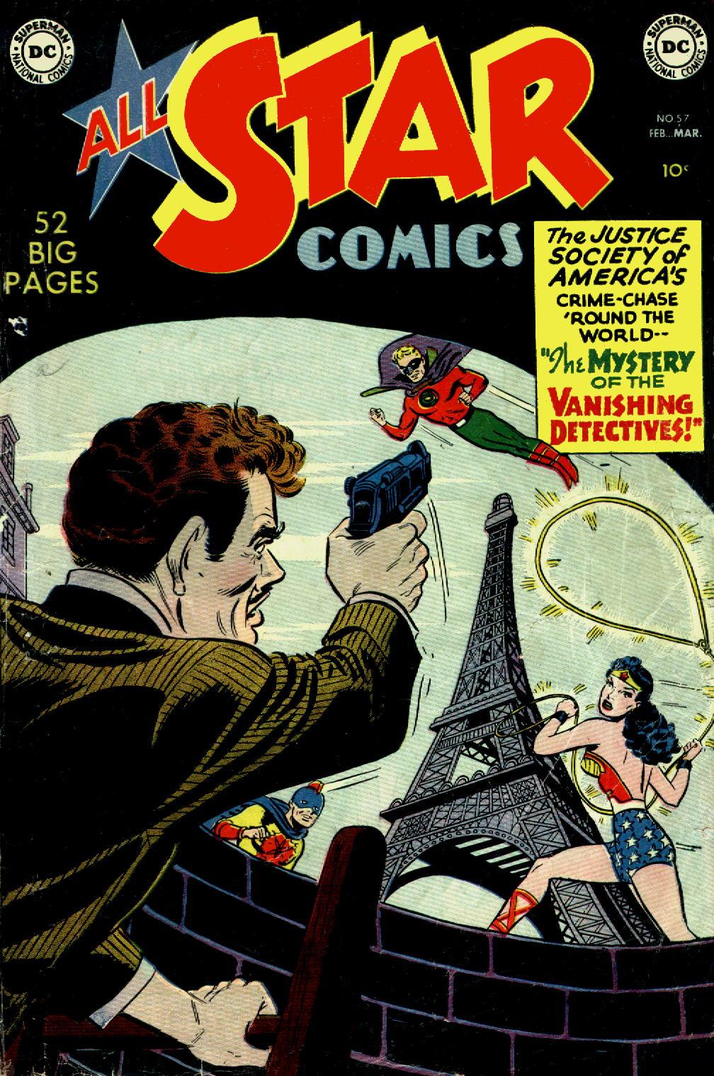 Read online All-Star Comics comic -  Issue #57 - 1