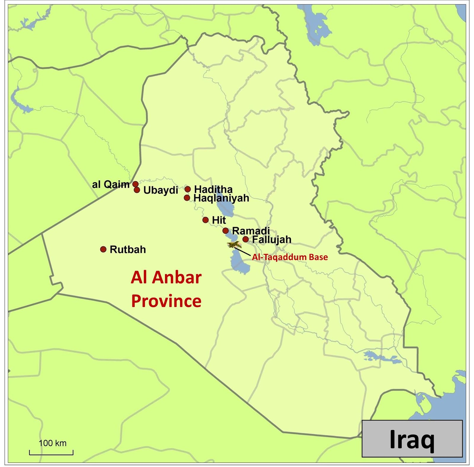 maps in the news back to iraq