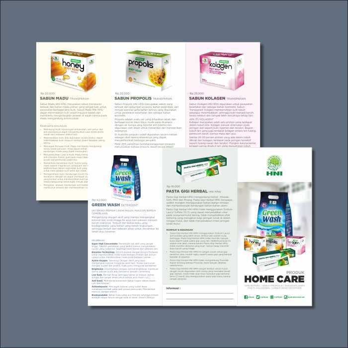 Brosur Produk Home Care 2017 | HPAI Support System