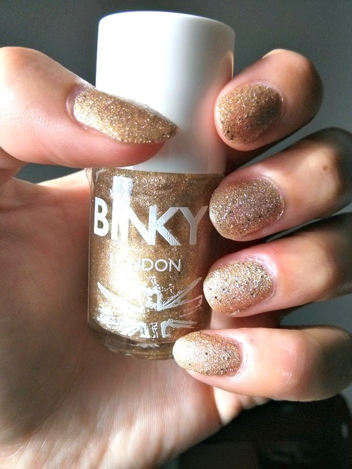 Binky Gold Rush nail varnish