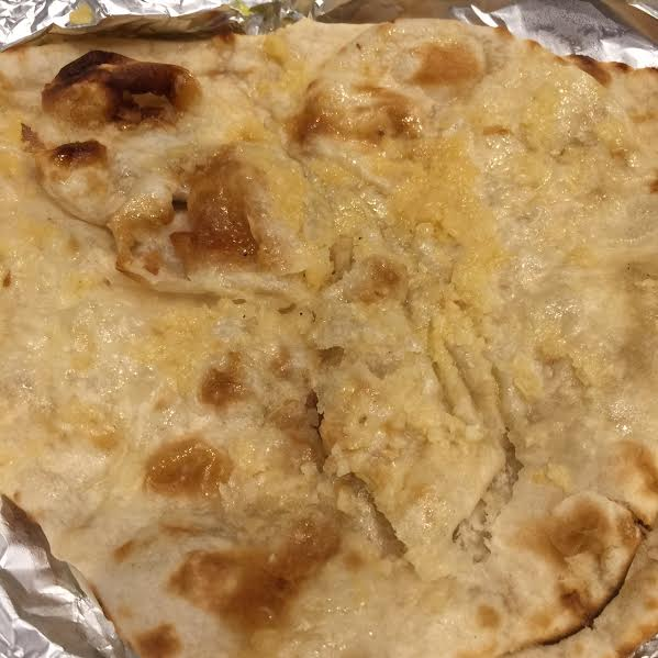 chef's tandoor;  garlic naan