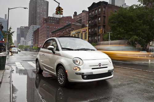 Fiat 500 Cabrio in NYC