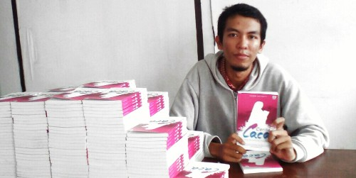 Habib Asyrafy penulis novel Cerita Caca
