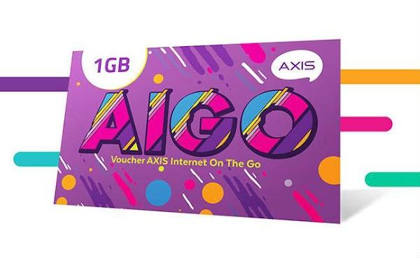 Cara Mengisi Voucher Kuota Axis AIGO