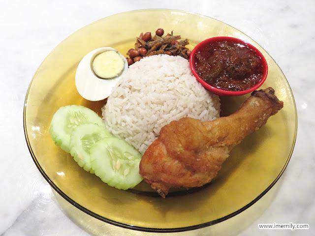 nasi lemak ayam  Malaysia Boleh! Four Seasons Place KL