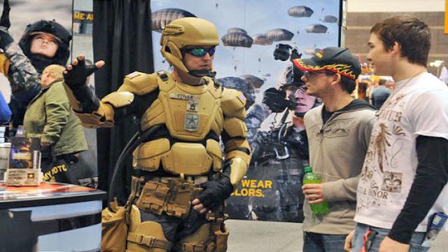 EE.UU. proyecta lanzar el prototipo de su nueva armadura al estilo Iron Man en 2018