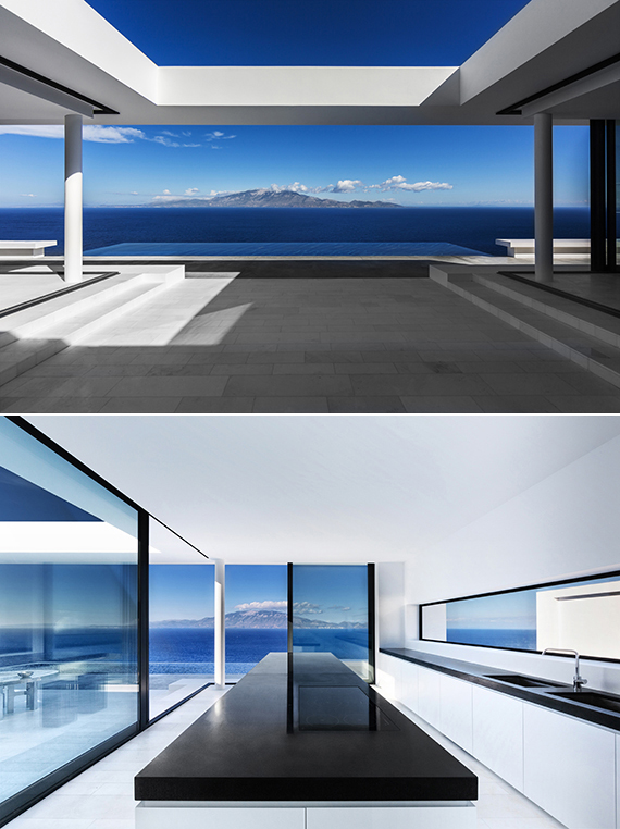 The Silver House in Zakynthos, Greece. Design by Olivier Dwek, photo by Serge Anton