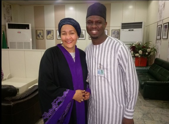 Amina Mohammed jets out to New York
