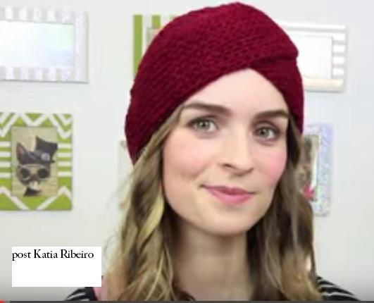 Turbantes em Crochê com Vídeo - Katia Ribeiro Crochê Moda e Decoração b791ff5ca9a