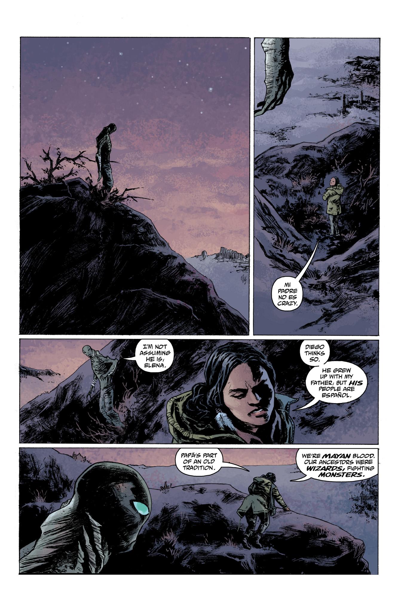 Read online Abe Sapien comic -  Issue #6 - 10