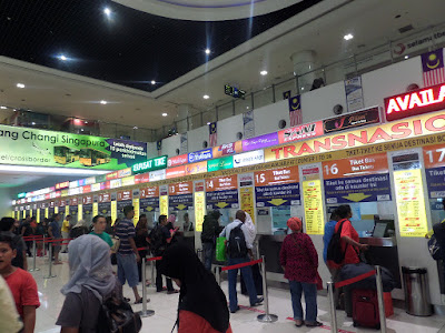 Backpacker Malaysia ke Singapore Naik Bus