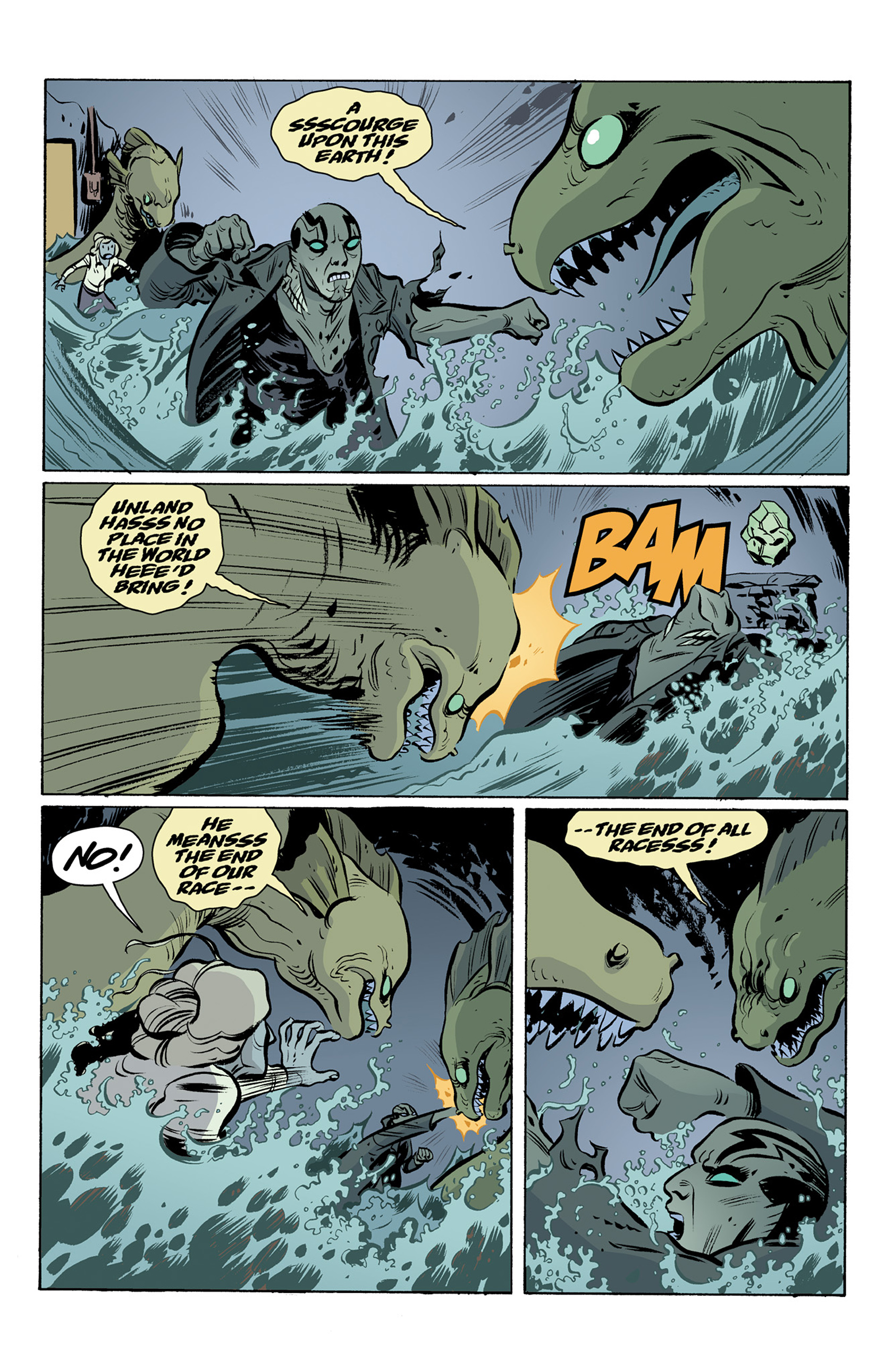 Read online Abe Sapien comic -  Issue #25 - 15