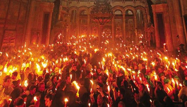 Λοιδορούν το Άγιο Φως οι άθεοι